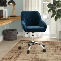 Whether you are setting up a home office or sprucing up your office, you'd like to add a little sass and class to your workspace. Mod design, playfully bold colors and quality materials make this chair a standout piece in any setting, while the comfort and durability make this chair a valuable addition to your workday.
