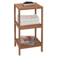 Exquisitely detailed and handcrafted of environmentally sound bamboo material. Decorative and functional storage and organization for any room in the house. Ideal use for bath, bedroom, and laundry room.