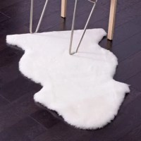 Soft, lightweight, and cozy, 100% genuine New Zealand sheepskin rug will add warmth and texture to any room. Touchable and inviting, this special rustic collection will make it an essential addition to any interior space. Using it as a throw by draping it on the bed or the sofa for a comfy wrap, you will be definitely addicted to the charm of it.