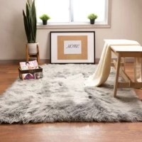 Our faux sheepskin rugs are a delight to step on. The collection features soft velvety feeling acrylic yarns that making it easy to get cozy and delightful to touch. Stain-resistant, latex-free rug is designed for daily indoor use Faux fur that is super soft under your feet. Solid colors that work with a wide variety of decors Great addition to a kids room or nursery. Stain resistant non-shedding pile.