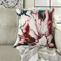Make your space truly shine with the exciting, modern flair of the pillow. This beautiful throw pillow adds a real sense of style and color to your favorite furniture piece with exceptional comfort and craftsmanship.
