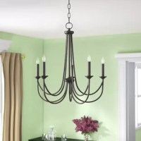 Polito 5 - Light Candle Style Classic/Traditional Chandelier