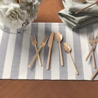 Bring luxury flatware into your home. This product lets you dress your dining table with something out of ordinary.