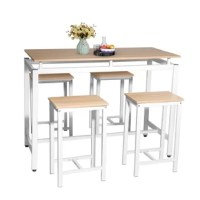 Avit 5 - Piece Counter Height Breakfast Nook Dining Set