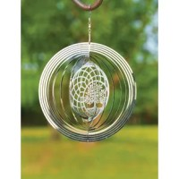 Great addition to your Home or Garden. Creates a mesmerizing spinning effect as it blows in the wind