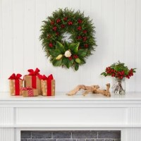 20'' Polyester Wreath