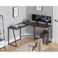 The steel frame structure is sturdy and durable which ensures the excellent stability of the desk.