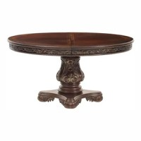 Chalus Extendable Solid Wood Dining Table