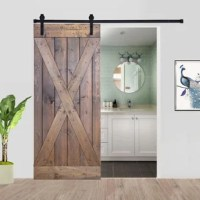Paneled Wood Barn Door without Installation Hardware Kit - X Series