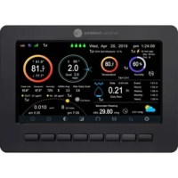 The ambient weather WS-2000 is a comprehensive local and remote monitoring package with free cloud hosting services at www.Ambientweather.Net. Experience the convenience of having your personal weather information with you on the go from your computer, tablet, or mobile device. Features real-time dashboard with expandable tiles, historical graphs and data,  email and text alerts, IFTTT, Amazon Alexa, google home, API for programmers, public share feature, and more. The high definition TFT...