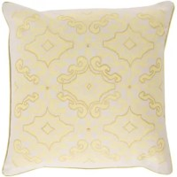 Two-tone coloring and elegant design intertwine in utter perfection, creating a look that will surely become the focal point to your space with this exquisite pillow by designer KD Spain. With a dazzling damask design in multi-toned hues, this piece, in its sparkling beauty will allow for a hint of subtle sophistication in any room. This pillow contains a zipper closure and provides a reliable and affordable solution to updating your home's decor. Genuinely faultless in aspects of...