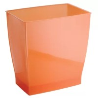 The design Axis Over the Cabinet Kitchen Storage Basket is the answer to all your organizational needs! This wire basket is perfect for storing your cleaning supplies, garbage bags, aluminum foil, and more! It can also be used as a handy wastebasket. The basket is made of the strong steel wire with heavy-duty bronze plating and includes non-absorbent foam backing on the hooks to protect your cabinets. There is nothing to install - just hang these over your cabinet door and they are ready to...