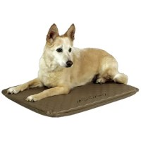 This Lectro-Soft™ Heated Dog Pad with Cover is perfect for your pet dog to sleep or lounge in either their crate, or on the floor of your living room. This rectangular dog pad provides warmth as it is thermostatically controlled. It has a solid pattern and features a graceful brown color, which is visually appealing. Made from high-quality materials, this dog pad is extremely durable. This Lectro-Soft™ Heated Dog Pad with Cover is available in multiple sizes, which lets you choose the one...