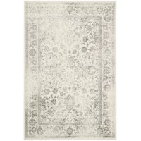 Who says artful allure has to be limited to what's hanging on the walls around you? Lend a little eye-catching appeal to space underfoot in your ensemble with this area rug, It has a popular material in rug production due to its high resistance to staining, fading, and moisture. It features an 0.43