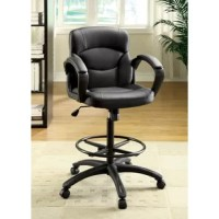 Update your office with this pneumatic height-adjustable seat.