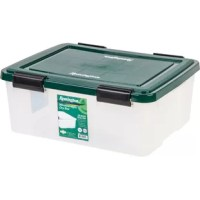 Store your favorite keepsakes, photos and sentimental items in a weathertight storage box. Air-tight seal keeps air and moisture out, and 4 durable latches keep lid securely attached to box. Grooved lid allows multiple units to be securely stacked together.