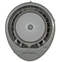 """EcoJet's Cyclone wall mount fans cool a generous outdoor area circulating at an impressive 1.625 CFMs. When temperatures rise, create an outdoor """"cool zone"""" of comfort with ultra fine cool mist that lowers area temperature, cleanses the air of dust, smoke and odors and creates a bug free fly zone. This wall mount fan features a durable, weather resistant plastic casing with attractive design. EcoJet's wall mount fans mount to an L-shaped hanging bracket included in the carton, and connect..."""