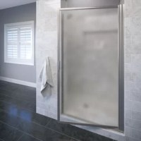 This framed glass shower enclosure has proven performance of style and function. The single panel shower door has anodizing aluminum hardware helps prevent rusting or corrosion. The door has a magnetic handle that latches to the unit's framing and drip rail system at the bottom of the door includes a channel that returns water back inside the shower. All Basco shower enclosures are backed by a limited lifetime warranty.  Moderate DIY skills are recommended for installation of the shower...