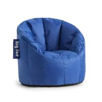 Every child enjoys a seat of the owner, and the Big Joe bean bag chair is perfect for any room in the house. Made with tough, stain and water-resistant Smart Max fabric. Filled with Ultimax Beans that conform to you. Double-stitched and double zippers for added strength and safety.