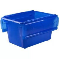 Features an integrated load bearing pipe in the lid for added strength and security while stacking. Simplified lid is easier to open and close as compared to other flip top boxes. Includes inserts for letter and legal hanging file folders.