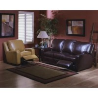 This living room set from the Mirage Leather Collection is comprised of classic, luxurious pieces to add to your home. Its timeless modern design and solid construction will allow you to enjoy your pieces for years.