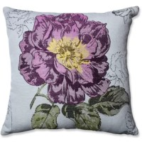 Floral decor will never go out of style and this lovely flower motif will be a great addition to your floral decor. The jacquard fabric is intricate and crafty. This throw pillow will inspire you to create a couch bouquet.