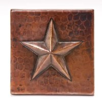 Lend an exquisite touch to your tile arrangement with the Premier Copper Products 4