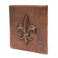 Add a quirky texture to your tile arrangement with the Premier Copper Products 4