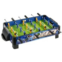 Kids will beam with excitement at the prospect of playing foosball on the exclusive Sidekick Table Top Soccer game. The game is large enough for exciting games, yet compact enough to be easily stored. MDF construction is much stronger than particle board or plastic. Rugged L-shaped legs can support hours of intense soccer action, while non-marking pads protect floors and furniture from scratching. High-quality chrome-plated steel rods with ergonomic handles will not bend or warp. Tough ABS...