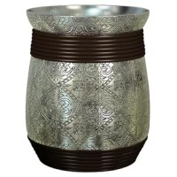 Give your room a clean and neat look with the Astoria Grand Millwood trash can. It is made from resin that makes it robust and durable. The gorgeous trash can has a silver finish that blends well with most decors. The decorated trash can is tarnish resistant and looks and stays like new for a longer time. It is ideal to keep in the bathroom, kitchen, bedroom or any other places as it is leak proof too. The trash can is not just for indoor use but outdoor use too and its beautiful pattern makes...