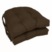 Up to the comfort of your indoor dining ensemble with chair cushion, a 16