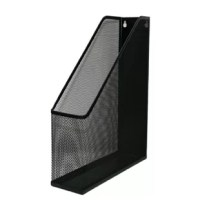 Keeps magazines, periodicals, and journals organized to help your desk stay uncluttered. Keeps files or magazines organized, out of the way but within easy reach. This YBM Home mesh magazine holder is durably constructed from the mesh steel, which provides not only function at your office but also adds style and a modern design element to your personal space. Easily store magazines, catalogs, newspapers, daily mail, journals, files, legal pads, notebooks and more to have instant access while...
