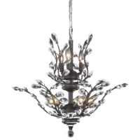 The ethereal splendor of this collection chandeliers adds floral-inspired fantasy to your palace. An organic centerpiece breathtaking in the dining room, living room, or stairwell.