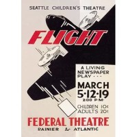 Poster for Federal Theatre Project presentation of