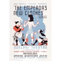 WPA poster for the Adelphia theater production