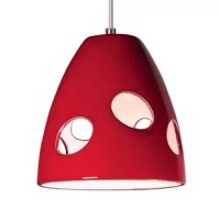 This brilliantly modern mini pendant is named for the city at the heart of contemporary Italian design. The smooth, inverted-tulip shape is made even more appealing with hand-cut elliptical openings, for more light and loads of interest.  Milano brings a fun and funky charm to your decor.