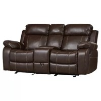 Tuthill Double Gliding Reclining Loveseat