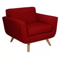 Modern Chair With Great Lines In Color That Really Pops.