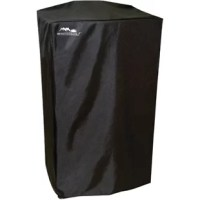 This durable, polyurethane-coated electric digital smoker cover protects your smoker from the elements.