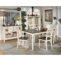 Leamont 5 Piece Solid Wood Dining Set