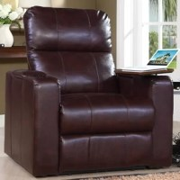 These recliners offer outstanding comfort and styling with bonded leather over a solid plywood frame for durability. Padded backs, arms, and sides make these recliners a step above the rest.