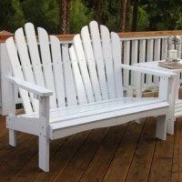 Whether relaxing with a good book in the garden or casually catching up with a close friend over coffee in the backyard, this bench has got your back. Made from cedar wood, it features straight arms and a solid back, and is designed for year-round use. And for all you DIYers out there, it arrives unfinished so you can coat it in a coloring of your choice! Measuring 37'' H x 49.5'' W x 31.5'' D, it comfortably accommodates up to two people.