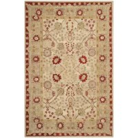 This Collection brings old world sophistication and quality in new tufted rugs. This collection captures the authentic look and feel of the decorative rugs made in the late 19th century in this region. Handspun wool and an ancient pot dying technique together with a densely woven thick pile give these rugs their authentic finish.