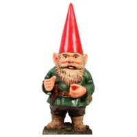 The iconic garden gnome is the best of all lawn ornaments. Add a little whimsy to your next event or garden party with this larger-than-lifesize cardboard standup!