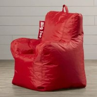 This bean bag chair is a great way to relax and unwind. This bean bag is available in a range of patterns and colors that you can choose from. You can use it as a corner chair or place with other pieces to transform it into a couch, loveseat, chaise, and more. It is made from smart max fabric that is double stitched to provide extra sturdiness and durability. This bean bag is filled with Ultimax beans that are comfortable and offer optimum support. The Big Joe Cuddle Children's Bean Bag Lounger...