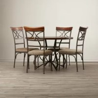 Erfan 5 Piece Dining Set