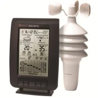 Plan the day with confidence with your own weather and weather prediction information – pinpoint accuracy right from your own backyard. The AcuRite Digital Weather Station uses patented self-calibrating technology to provide your personal forecast of 12 to 24 hour weather conditions. Self-calibrating forecasting is generated from weather data measured by a sensor in your yard - giving you the most accurate forecast available for your exact location. The bold, easy to read LCD screen includes...