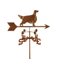 This Setter Weathervane is always on the lookout.