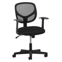The Essentials by OFM seating collection is where quality meets value. The ESS-3000 task chair features a breathable mesh back and durable sandwich mesh on the seat. It also offers simple and intuitive controls such as pneumatic seat height adjustment and 360 degree swivel for added customizability and comfort. The comfort, stylish look, and price point of this chair make it a perfect addition to the office, whether at work or at home. This chair meets or exceeds industry standards for safety...