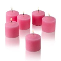 The set of 72 pink rose gardens scented votive candles are very popular, classic and clean. Scented votive candles are very popular for home use, whether it may be arranged around the tub or Jacuzzi, or at your patio and pool gatherings.